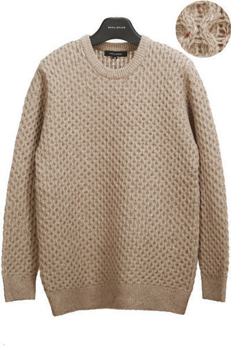 tricot beige pullover
