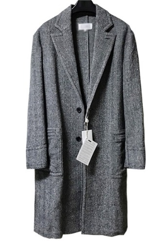 long herringbon coat