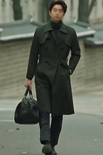 wool cashemere trench coat도깨비 공ㅇ착용