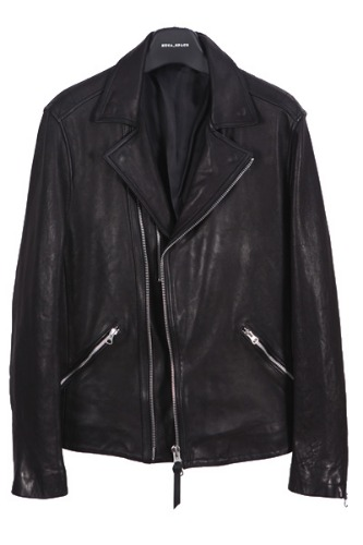 ezra biker lams leather jaket