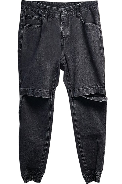 19 S/S point jogger banding pants